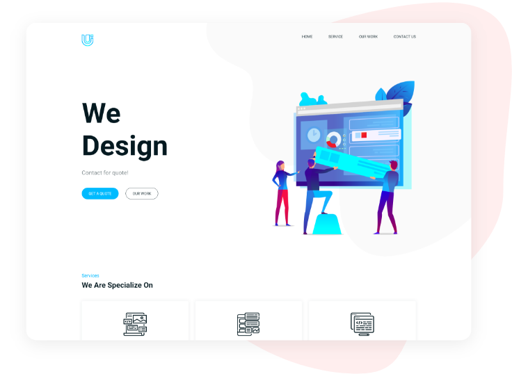 Landing Page Free Template