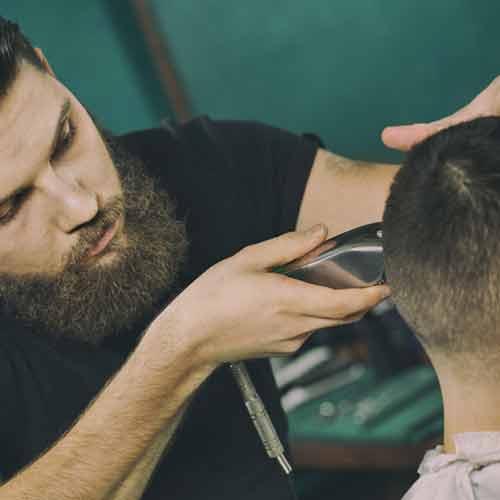 beard men cut hair