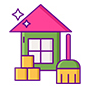 Home cleaning Services Symbol